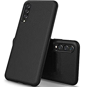 Designerz Hub® [360 Degree Protection] [Scratch Resistant] Flexible Soft Anti Slip TPU Case Shockproof Protection Case Back Cover for Samsung Galaxy A50s - (Black)