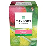 Taylors & Kew Lychee & Lime Green Teabags 20 per pack