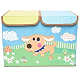 Baby Bucket Foldable Storage Box Puppy P...