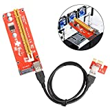 Seasiant India USB 3.0 Pcie PCI-E Express 1x to 16x Extender Riser Card Adapter Power BTC Expansion Cable Mining Single Item