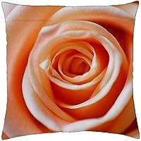 Creamy Rose - Throw Pillow Cover Case (18