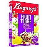 Bagrrys Fruit N Fibre Muesli, Mixed Fruit, 500g