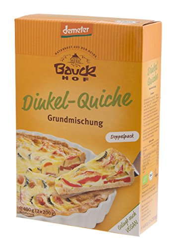 Bauckhof Bio Bauck Demeter Dinkel-Quiche (1 x 400 gr) - Quiche