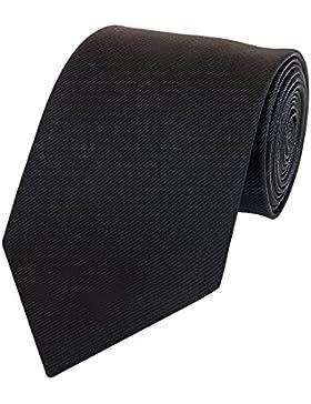 Klassische Krawatte von Fabio Farini in Schwarz