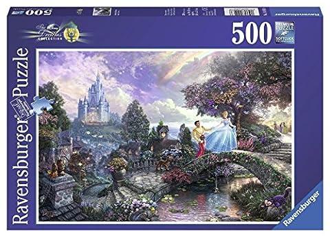 Ravensburger 14493 - Kinkade: Cinderella, 500 Teile Puzzle