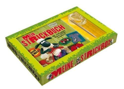 Preisvergleich Produktbild Shaun das Schaf - Mein Strickbuch: Buch mit Original Shaun-Mustern und zwei Rundstricknadeln in dekorativer Geschenkbox - Meine Strickbox