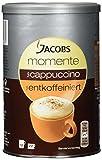 Jacobs Cappuccino entkoffeiniert, Dose, 8er Pack (8 x 220 g)