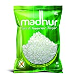 Madhur Pure and Hygienic Sugar, 1kg Bag