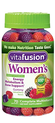 Vitafusion Women's Gummy Vitamins, 70 Count by Vitafusion (Gummies Vitafusion)