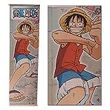 One Piece Stoffbanner Wallscroll (180 x 55 cm): verschiedene Motive Ruffy