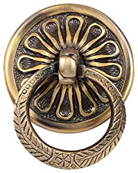 ACE HARDWARE Aluminum Door Knocker (Brass)