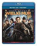 The Great Wall [Blu-Ray]+[Blu-Ray 3D] [Region Free] (English audio. English subtitles)