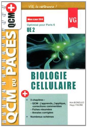 Biologie cellulaire UE 2 : Optimisé pour Paris 6