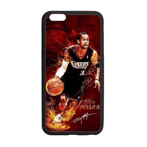 allen-iverson-playing-basketball-poster-and-signature-pattern-custom-phone-case-laser-technology-for