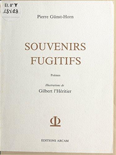 Souvenirs fugitifs pdf