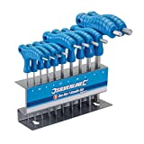 Silverline 323710 Hex Key T-Handle Set, 2-10 mm - 10 Pieces by Silverline