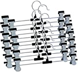 #6: Np Storefront steel clip hanger to hang saree,jeans,shirts,kurtis,chudiar materials and all kinds of clothes(set of 12 pc)
