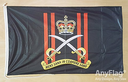 anyflag® Army Physical Training Corps Roped und Kordel 5 ft x 3 ft Flagge (Training Physical Marines)