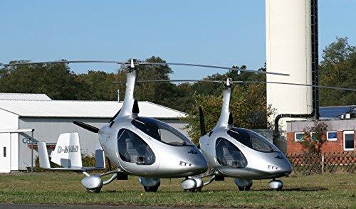 Gyrocopter Rundflug inkl. 3-Gänge Menü in Hamburg