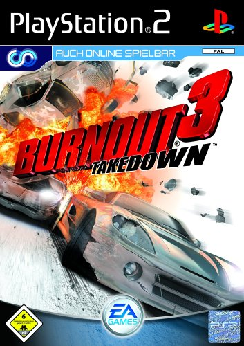 Neu Playstation 3 Spiel (Burnout 3: Takedown)