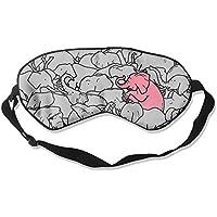 Comfortable Sleep Eyes Masks Elephants Pattern Sleeping Mask For Travelling, Night Noon Nap, Mediation Or Yoga preisvergleich bei billige-tabletten.eu