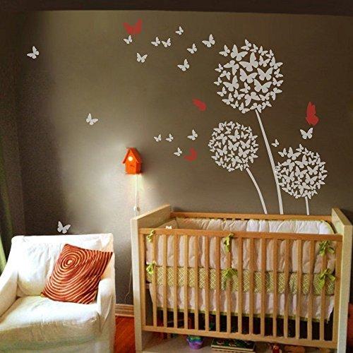geckoo-floral-pissenlit-fleurs-sticker-mural-fleur-avec-papillon-toile-murale-motif-graphique-pour-c