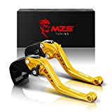 MZS oro frizione freno corto Leve per Kawasaki Z750 (not Z750S model) 2007-2012,Z800/E Version 2013-2016
