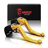 MZS oro frizione freno corto Leve per Kawasaki Z750 (not Z750S model) 2007-2012,Z800/E Version 2013-2016