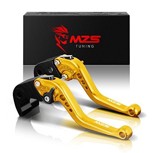 MZS oro frizione freno corto Leve per BMW K1600 GT/GTL 2017-2018,R1200R/R1200RS 2015-2018,R1200RT/R1200GS Adventure (LC) 2014-2018,R nine T 2014-2017