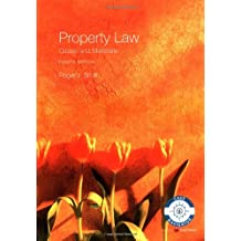 Property Law Cases and Materials 4th edition (Longman Law Series)