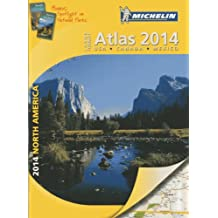 Michelin 2014 Large Format Atlas North America: USA, Canada, Mexico