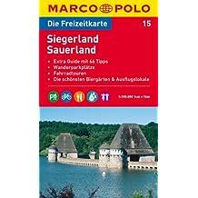 MARCO POLO Freizeitkarte Siegerland, Sauerland