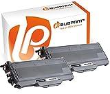 Bubprint 2 Toner kompatibel für Brother TN-2120 TN 2120 für DCP-7030 DCP-7040 HL-2140 HL-2150N HL-2170W MFC-7320 MFC-7440N MFC-7840W Schwarz 2600 S.