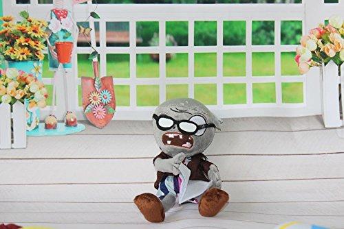 Plüsch Spielzeug Zombie (Zombie mit Buch und Brille) 30 cm ()