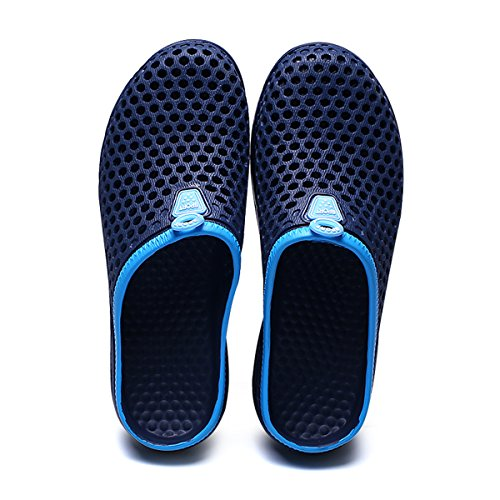 welltree Clog Men Garden Water Slippers Blue