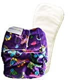 Superbottoms Newborn Cloth Diapers with Dry Feel (Stay Dry) soakers (Inserts)