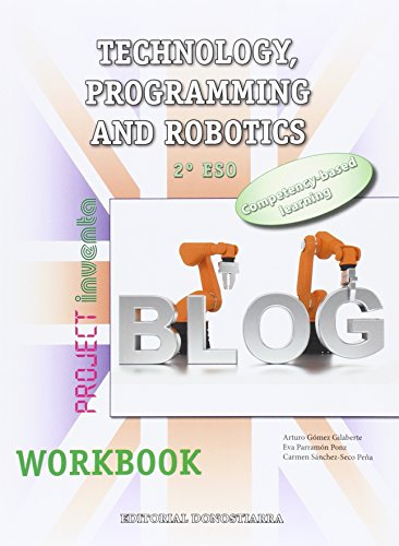 Workbook. Technology, programming and robotics 2º ESO - 9788470635489