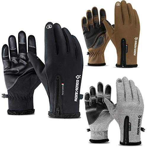 Tinement Guantes Calientes Unisex Casuales Suaves