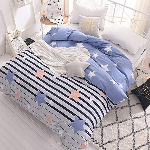 WHICH Umbrella three Digitale Print Bettbezug betten Schlafzimmer 100% Baumwolle rosa Prinzessin geometrischen nordischen Stil Decke auf 1pcs-D-220x240 cm