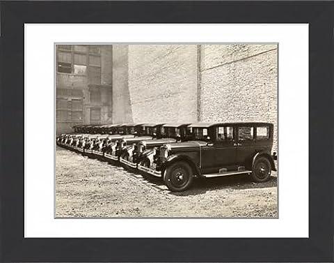 Framed Print of Nash car showroom