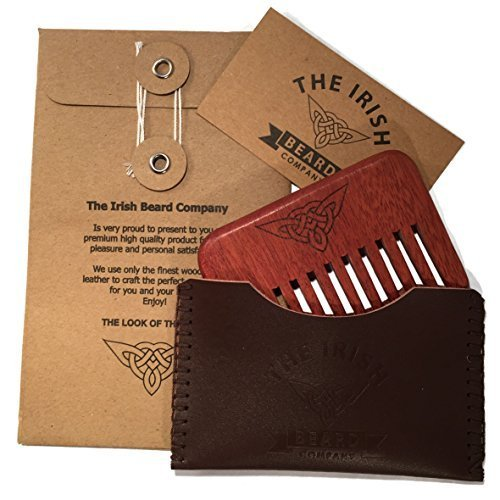 wooden-beard-comb-natural-wood-pocket-beard-comb-with-real-hand-stitched-leather-pouch-ideal-for-mal