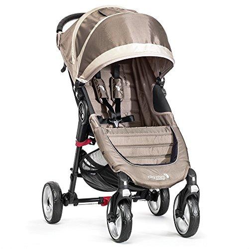 Baby Jogger City Mini 4 - Silla de paseo, color arena / piedra