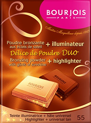 Bourjois - Delice de poudre bronzing powder - polvos bronceadores e iluminadores
