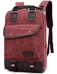 Al aire libre entusiastas Alpinismo Mochila Senderismo Mochilas Outdoor Escalada Bolsa bolsa de lona mochila (25L) (Red)