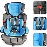 Todeco - Siège Auto pour Bébé et Enfant, Siège Auto Rehausseur - Standards/Certifications: ECE R44 / 04 - Tranche d'âge: Enfants de 9 mois à 12 ans - De 9 à 36 kg, Bleu