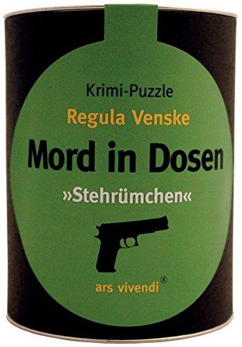 ars vivendi 4250364112567 - Mord in Dosen: Regula Venske - Stehrümchen, Puzzle Preisvergleich