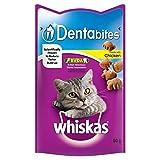 Whiskas Dentabites Cat Treats Chicken 50g (PACK...