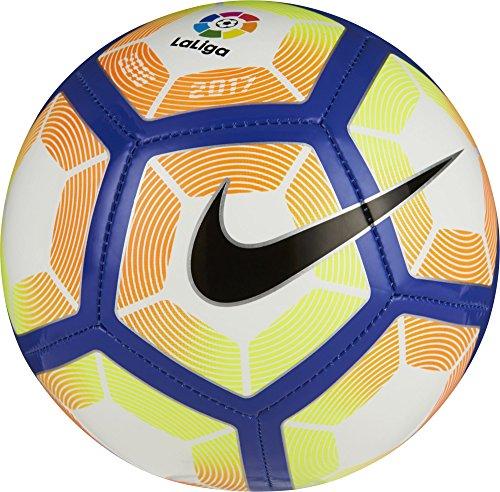 Nike Skills-La Liga Lfp Balón, Unisex adulto, Blanco (Blanco / Orange / Blue / Negro), 1