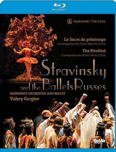 Stravinsky et les ballets russes le sacre du printemps. l'oiseau de feu [Blu-ray] [(+booklet)] [(+booklet)] [Import italien]