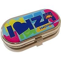 Pillendose Metall Ibiza. Pillbox donsouvenir. preisvergleich bei billige-tabletten.eu